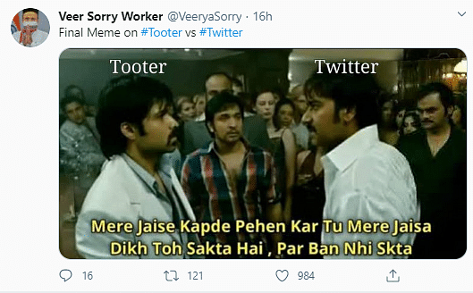 Twitter Buzzes With Memes About 'Swadeshi' Counterpart 'Tooter'