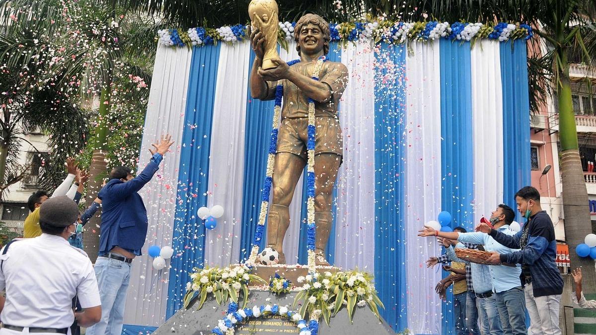 Sporting Club in Kolkata That Maradona Visited Pays Tribute