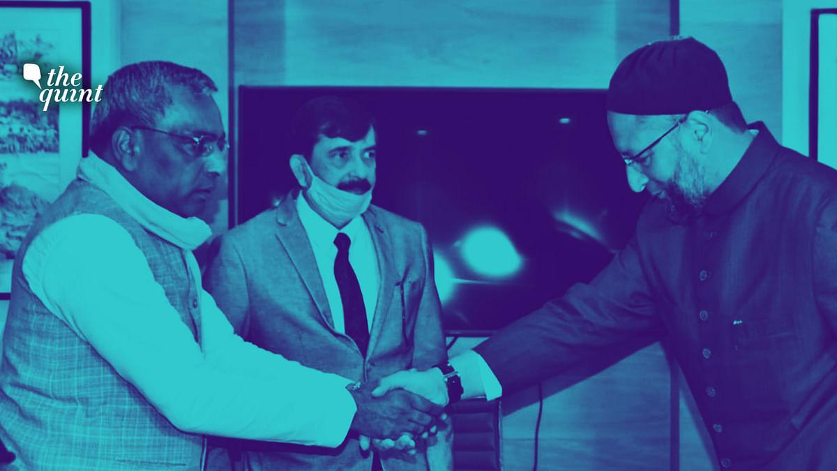 Owaisi & Rajbhar Seal Alliance, Peace Party Leader Joins AIMIM