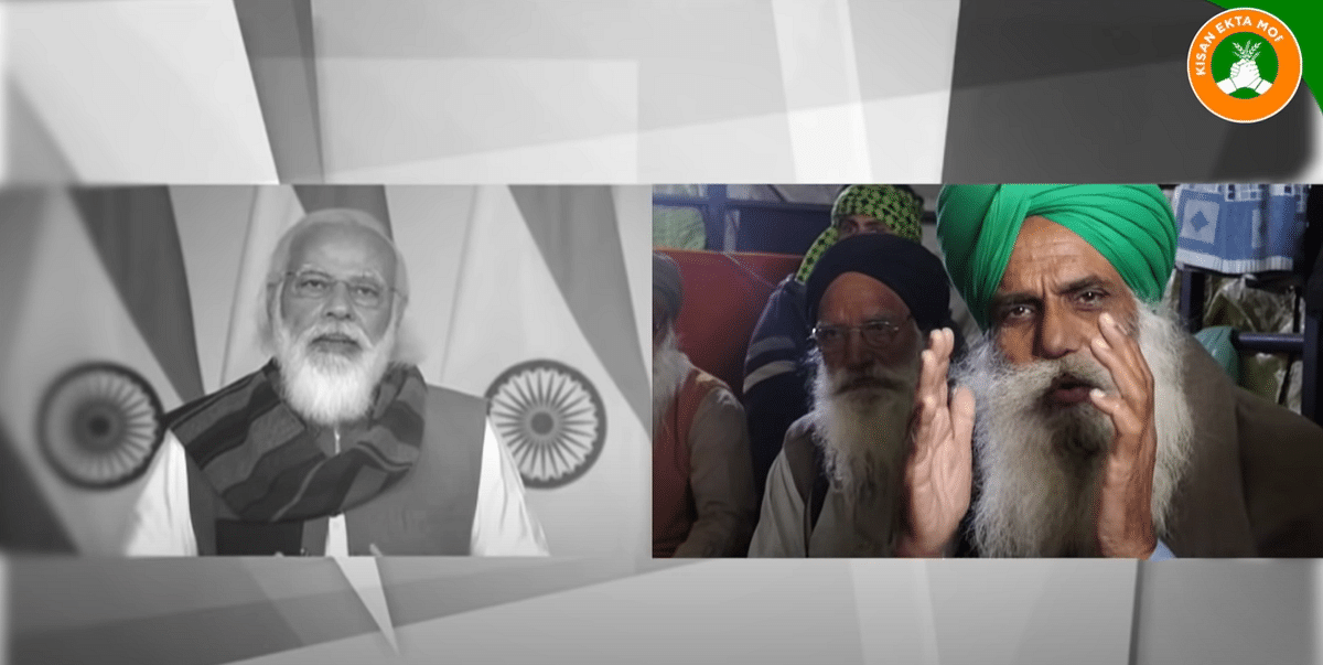Farmer leader Jagjit Singh Dallewal takes on PM Narendra Modi's arguments on agricultural issues point-by-point in a YouTube video.