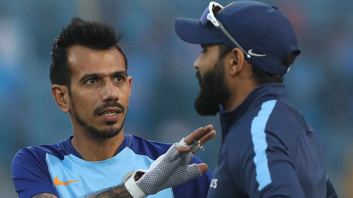 India used Chahal as a concussion substitute for Jadeja in the T20I series-opener vs Australia.