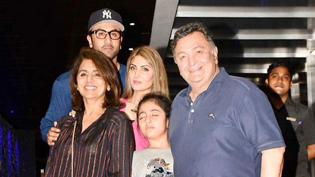 The Kapoor family.