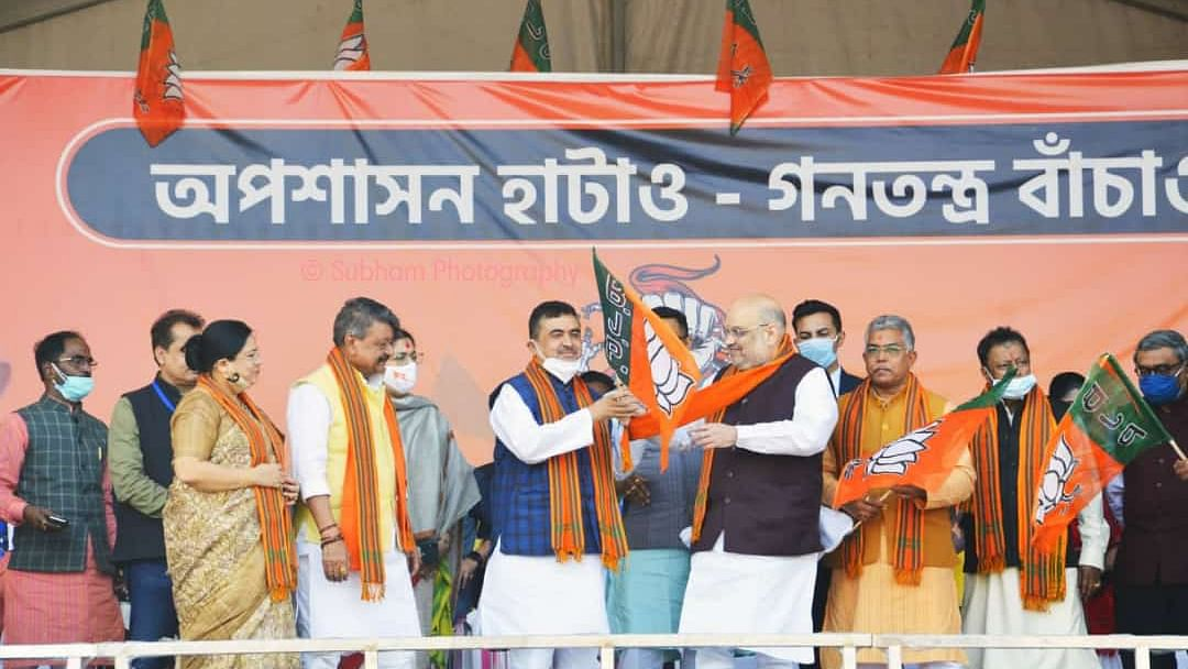 My Brother & 5,000 TMC Workers to Join BJP, Says Suvendu Adhikari