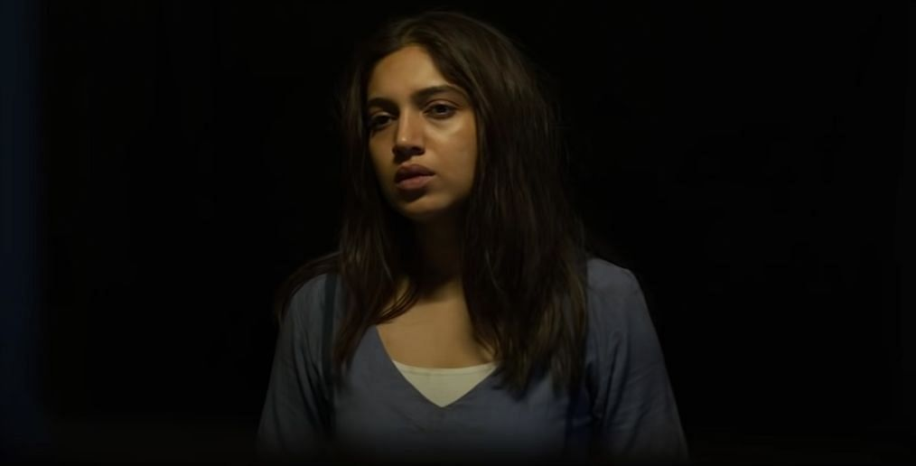 Bhumi Pednekar in a still from <i>Durgamati.&nbsp;</i>