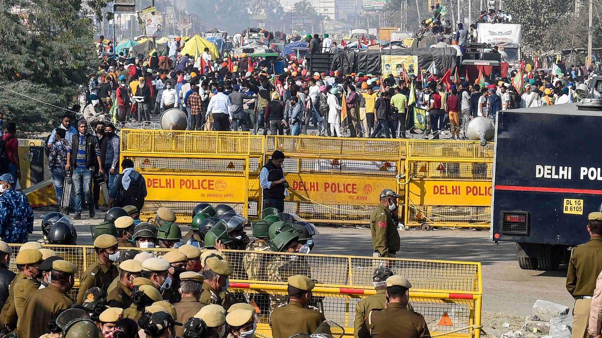 Delhi's Chilla Border, Many Others Shut As Farmers Continue Stir