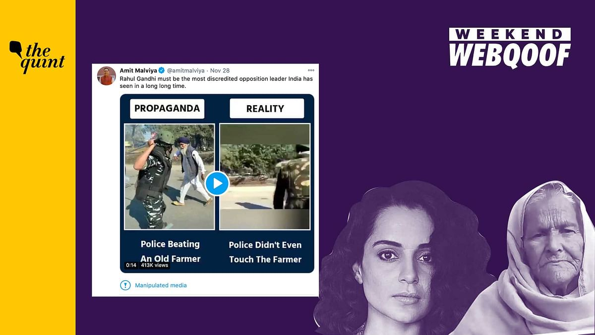 WebQoof Recap: Kangana & Malviya's False Claims on Farmer Protests