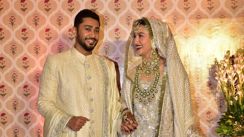 Pics: Gauahar Khan, Zaid Get Married in an Intimate Ceremony