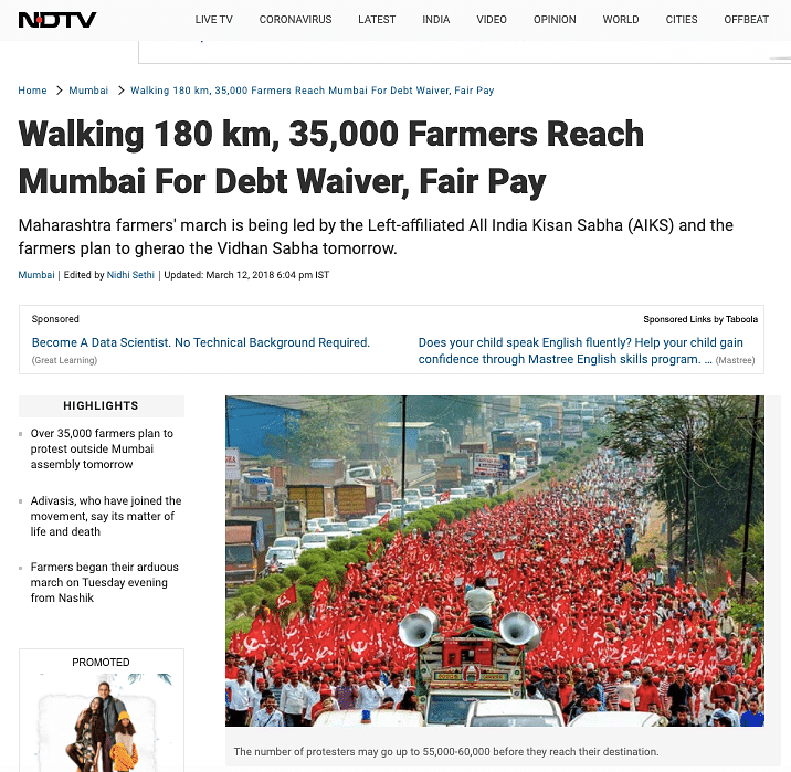 Old Images From Jan 2020 & 2018 Viral as Ongoing Farmers' Protest