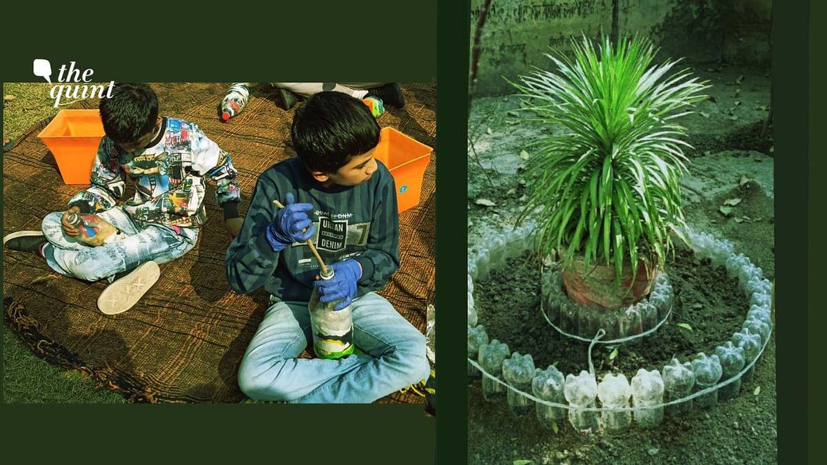 #GoodNews: Duo in Punjab Create 'Eco Bricks' to Curb Plastic Waste