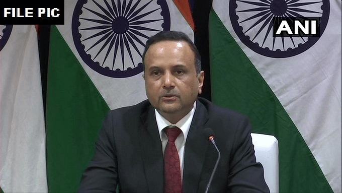 File image of MEA spokesperson Anurag Srivastava.