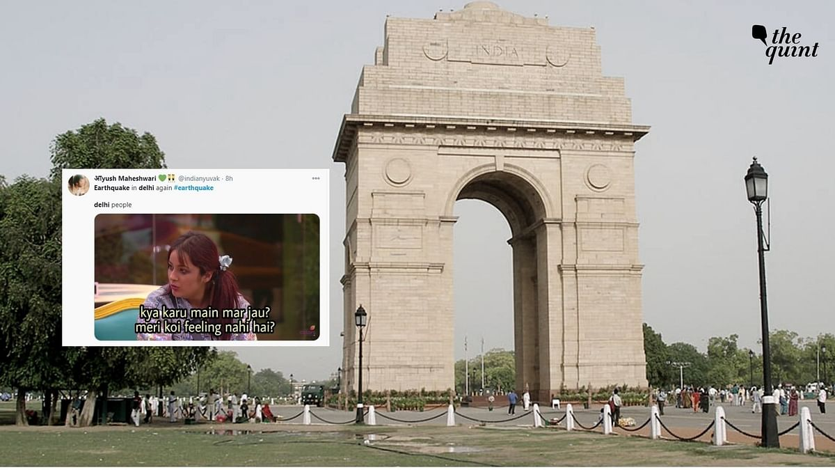 4.2-Magnitude Earthquake Hits Delhi-NCR; Twitter Erupts With Memes