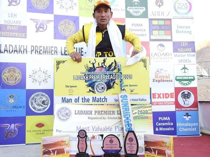 Skalzang emerged as the big star of the Ladakh Premier League, played earlier this year.