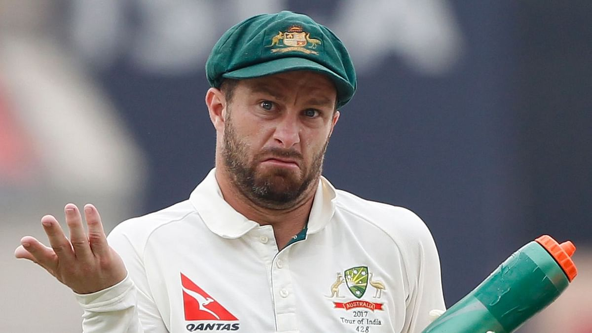 Australia is playing two wicket-keepers in their playing XI, Wade as an opener and Tim Paine behind the stumps.
