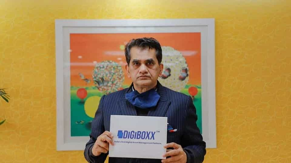 NITI Aayog CEO Amitabh Kant Launches File-Sharing App DigiBoxx