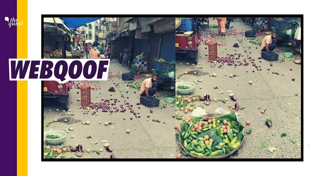 It is an old image and not related to the 'Bharat Bandh' that took place on 8 December.