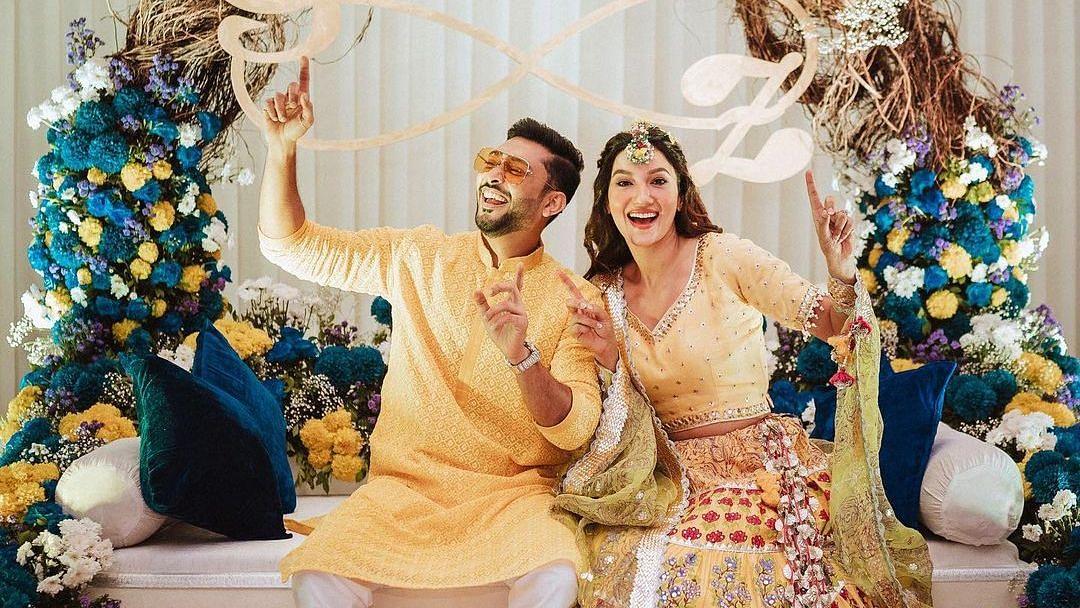 Pics: Gauahar Khan & Zaid Darbar's Wedding Festivities Begin