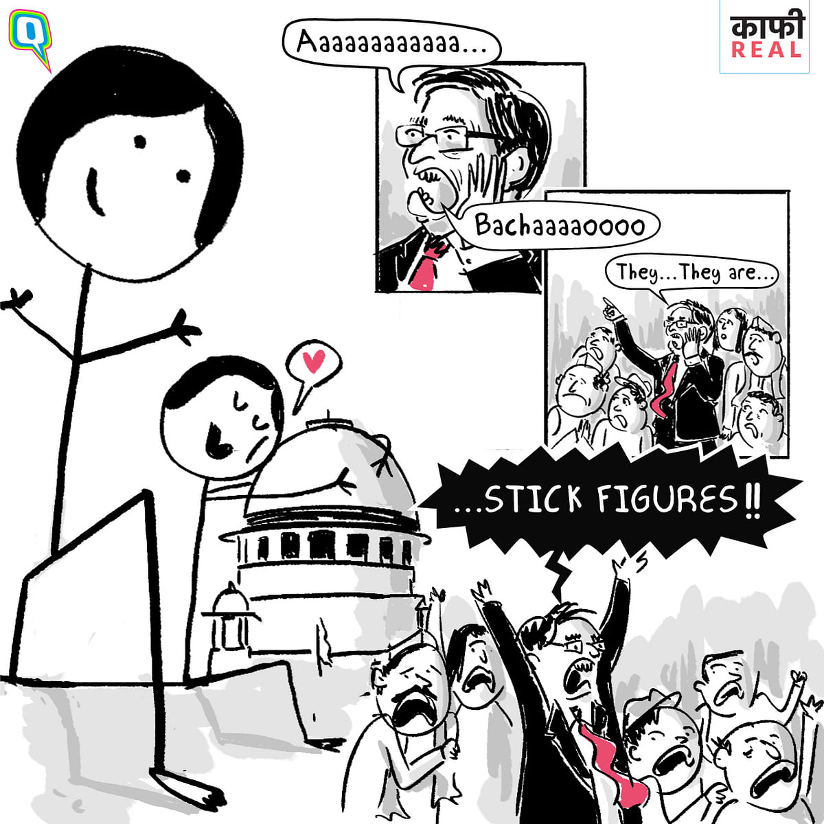 Those Scary Stick Figures! India's Fear of Cartoons is Kaafi Real