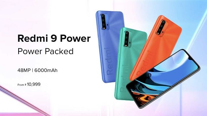 Redmi 9 Power Launched in India with 6,000mAh Battery, 48MP Camera