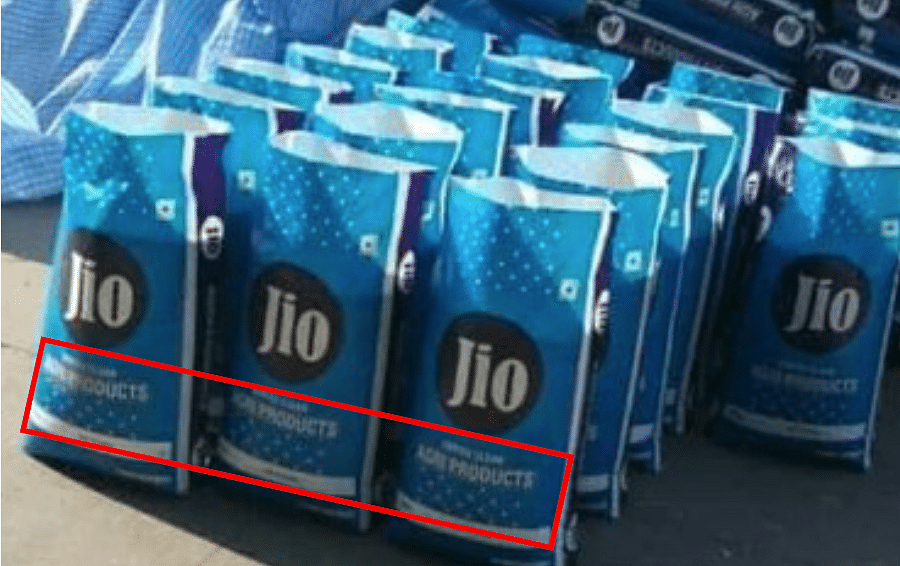 Viral Images of Food Sacks Falsely Linked to Ambani's Reliance Jio