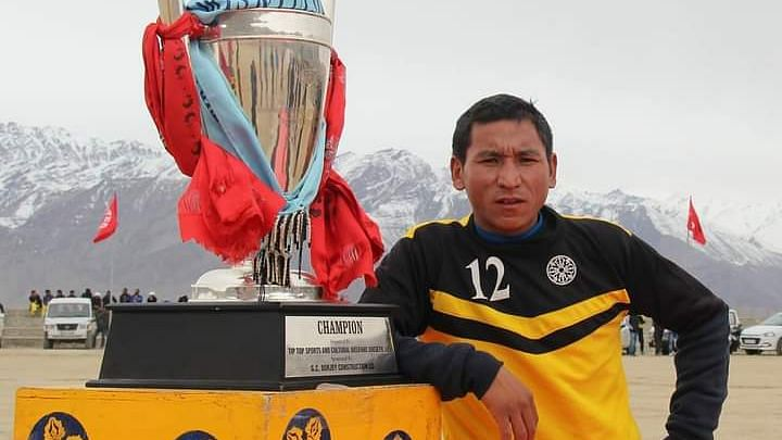 Skalzang Dorjey Becomes First Ladakhi Picked in J&K's Cricket Team