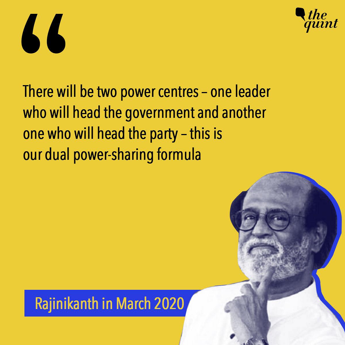Rajinikanth & Politics: