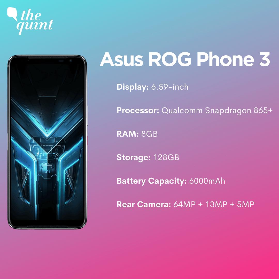 Best Gaming Phone: Asus ROG Phone 3