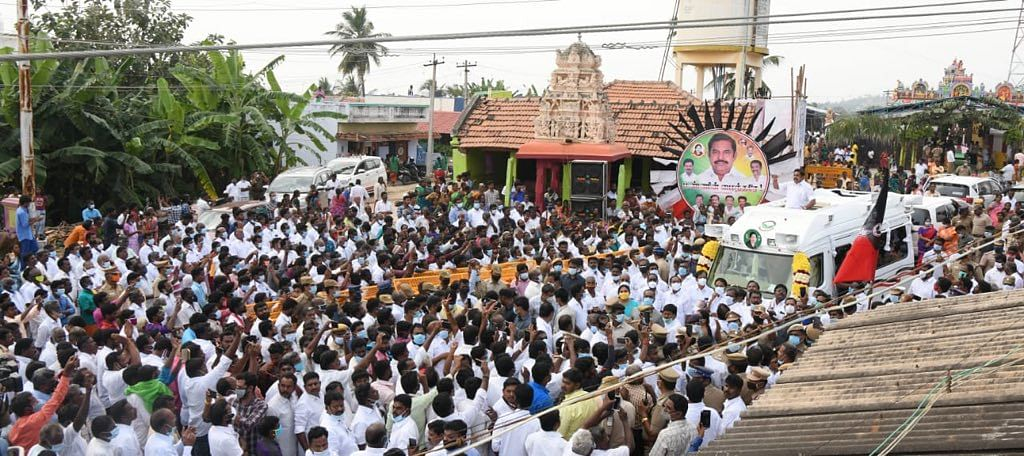 Assembly polls in Tamil Nadu are scheduled to be held in April-May 2021.