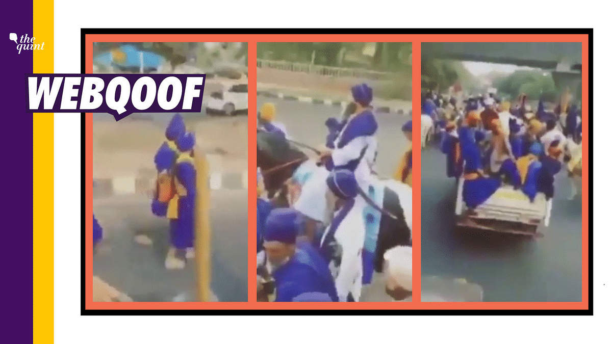 20,000 Nihang Sikhs to Join Farmers in Delhi? Video is From 2018