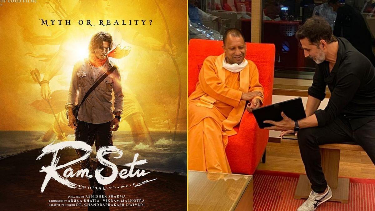 Akshay Gets Nod To Shoot 'Ram Setu' in Ayodhya From UP CM?