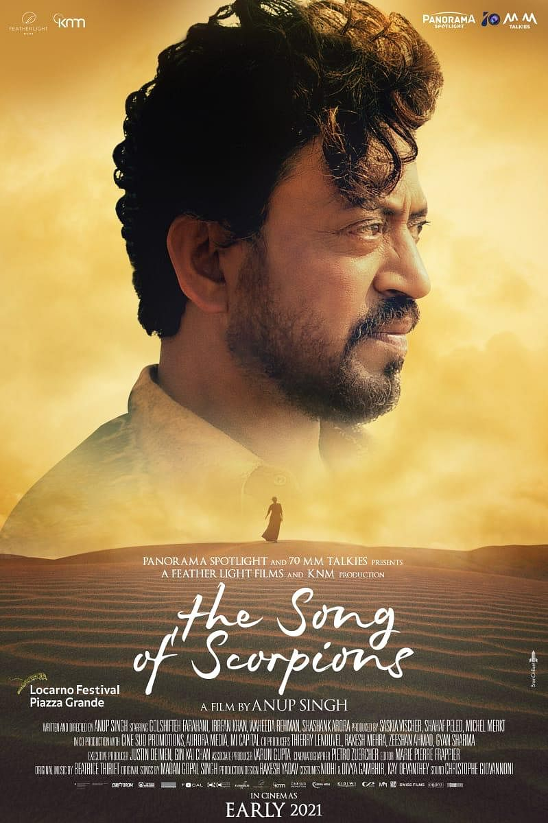 Irrfan Khan's The Song of Scorpions to Release in Theatres in 2021