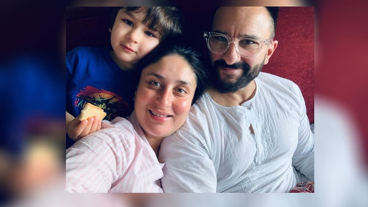 Kareena Kapoor with Saif Ali Khan and Taimur. Image used for representation.
