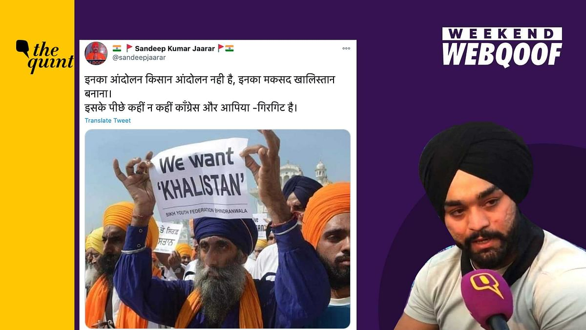 WebQoof Recap: Farmers on Fake News, Old Khalistan Image Revived