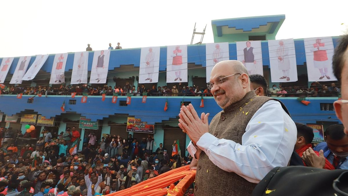 Rules for CAA to be Framed After COVID: Amit Shah in West Bengal