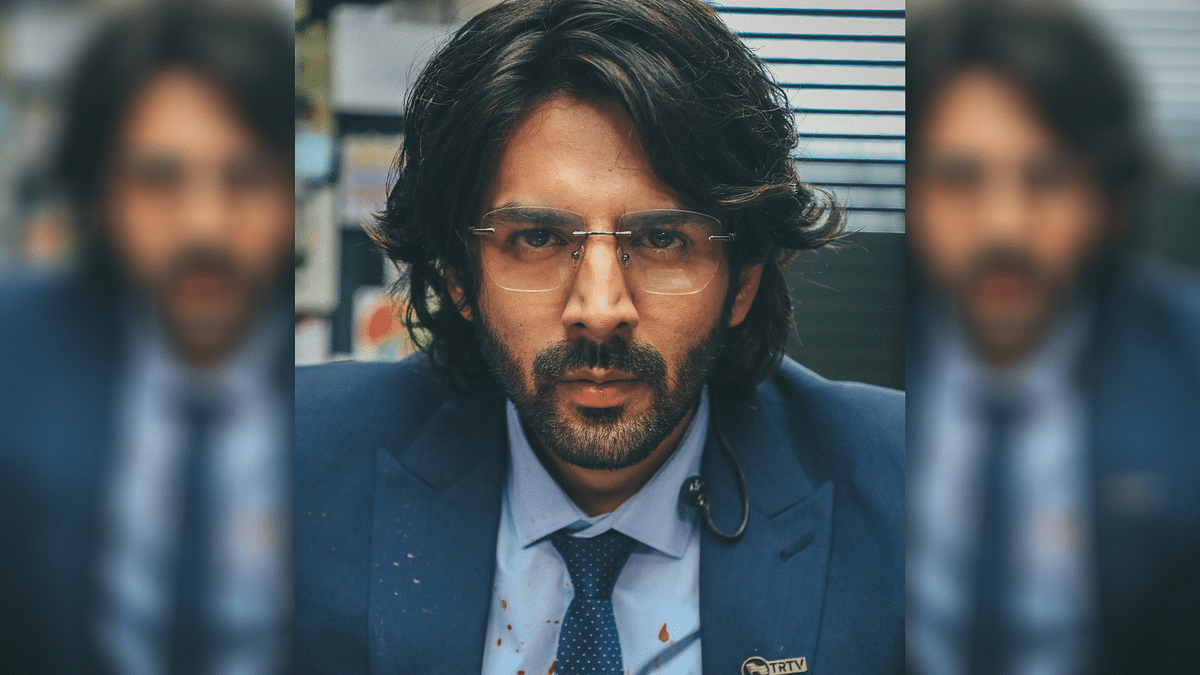 Kartik Aaryan Reveals First Look of Character from 'Dhamaka'