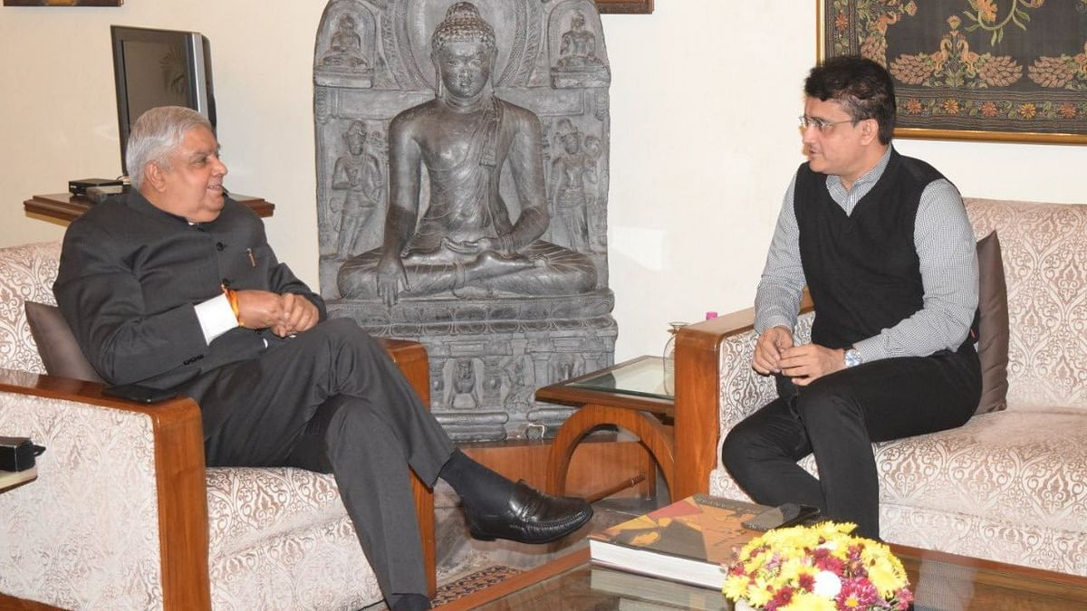 Sourav Ganguly Meets WB Governor, Sets Political Circles Abuzz