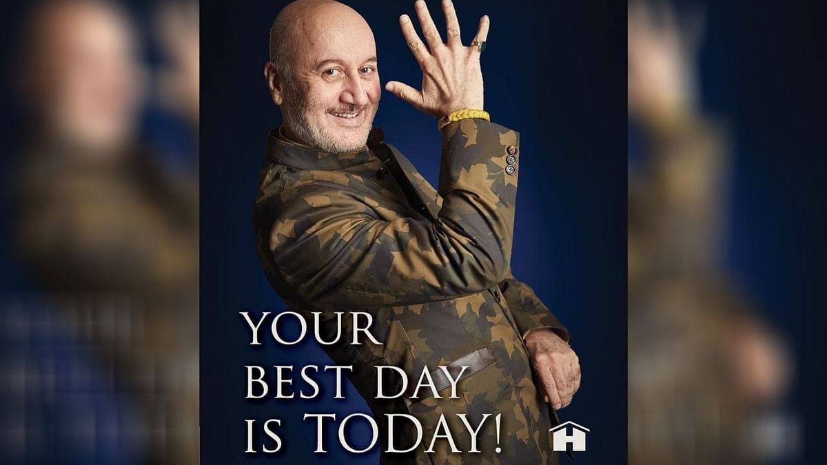 Never Thought I'd Write About Death: Anupam Kher on New Book