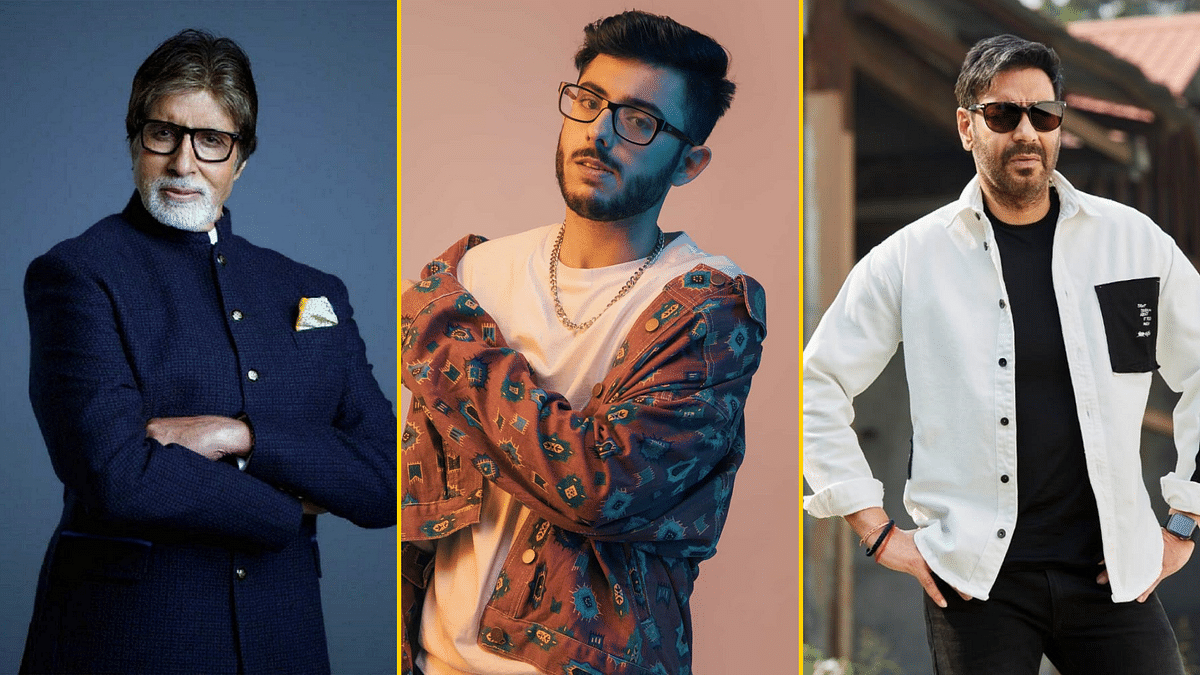 YouTuber CarryMinati will feature alongside Amitabh Bachchan and Ajay Devgn in <i>MayDay</i>.