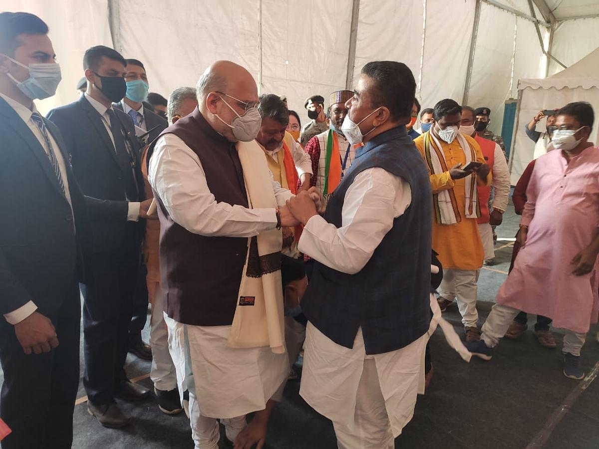 Suvendu Adhikari Joins BJP, Shah Says 'Didi Will Be Left Alone'