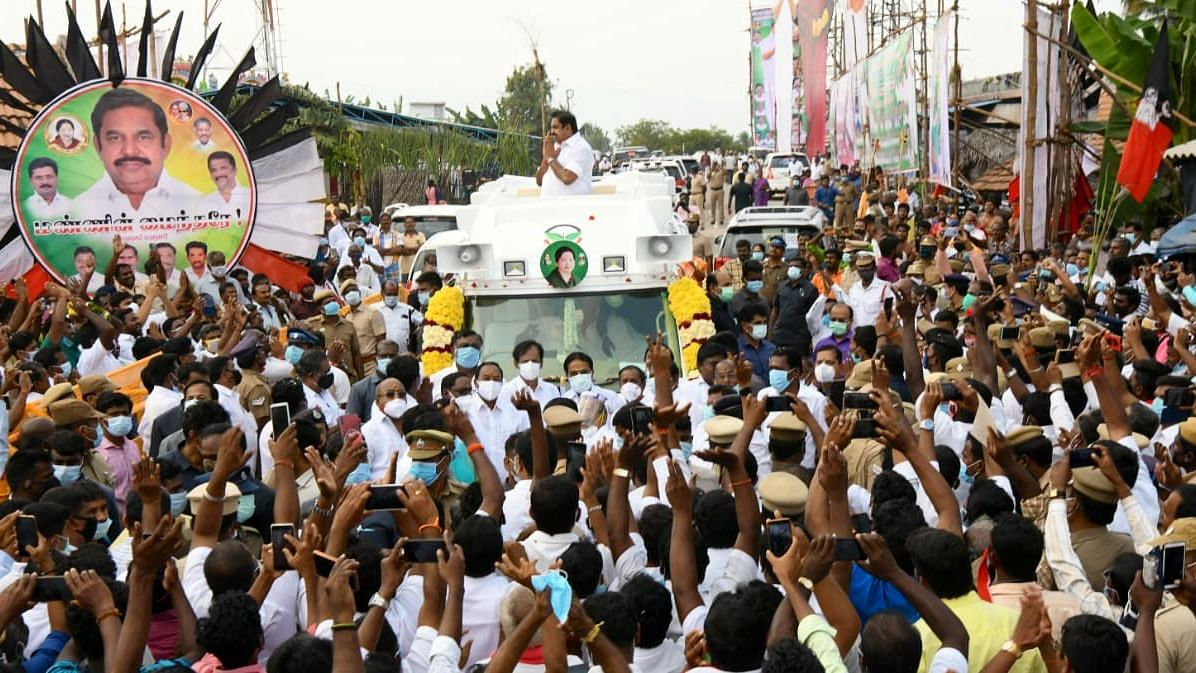 TN CM Edappadi Palaniswami Kicks off AIADMK's Election Campaign for 2021  'Amma' Style