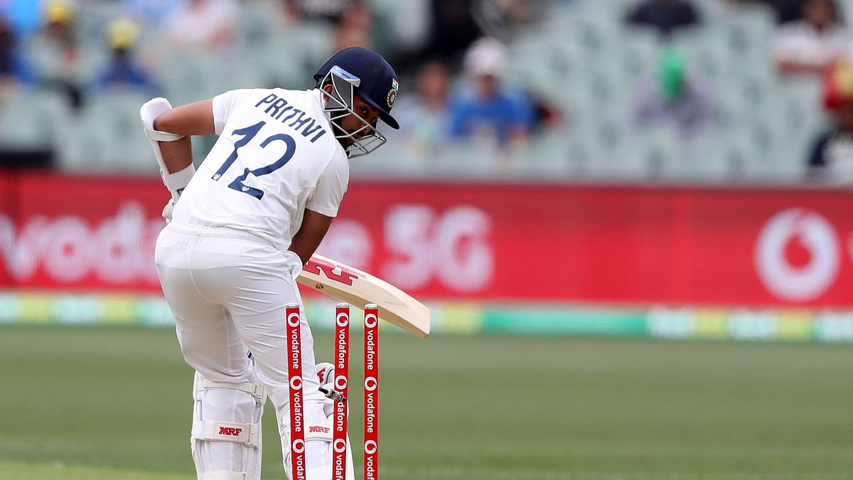 Picked ahead of Shubman and KL Rahul, Prithvi fell for a second-ball duck on Day 1 vs Australia.