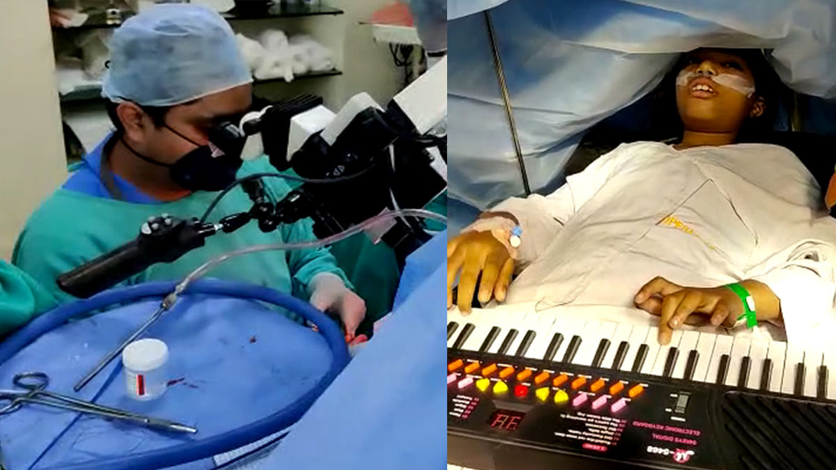 9 Year Old Plays Piano for Hours While Undergoing Brain Surgery