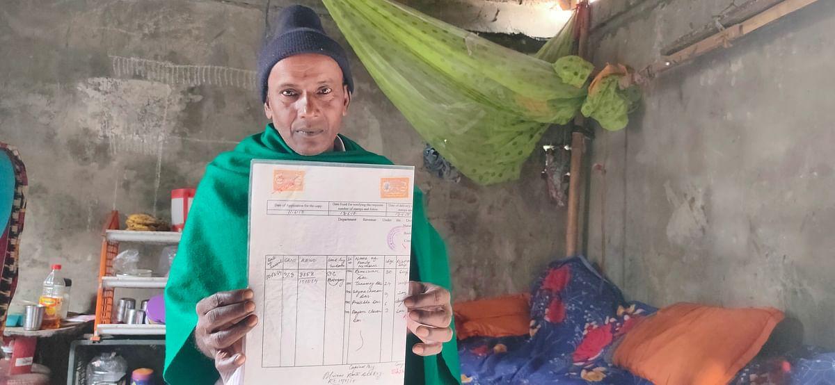 Bhakta Das was declared an Indian citizen in 2011. He got a D-voter notice again in 2017.