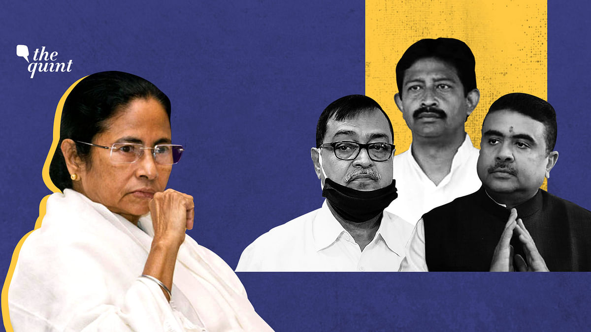 The increasing list of TMC leaders who spoke against the party.