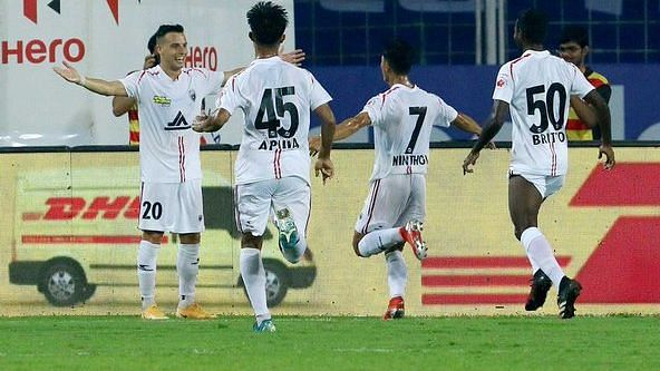 Bengaluru FC, NorthEast United Play Out Pulsating 2-2 Draw