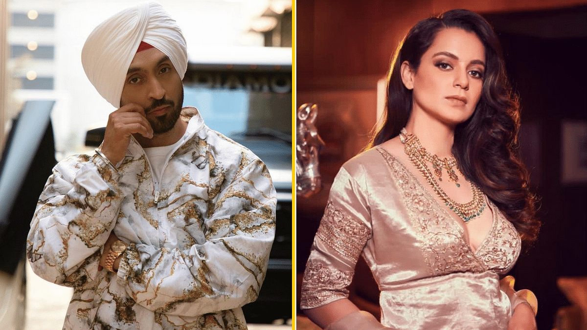 Diljit Reacts to Kangana's Claims He 'Incited' Farmers' Protest