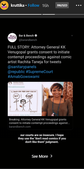 Indian Artists Stand In Solidarity With Sanitary Panels Cartoonist