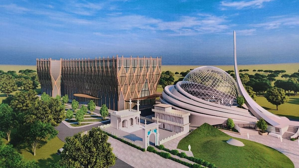 Trust Building Ayodhya Mosque Unveils Futuristic Glass-Dome Design
