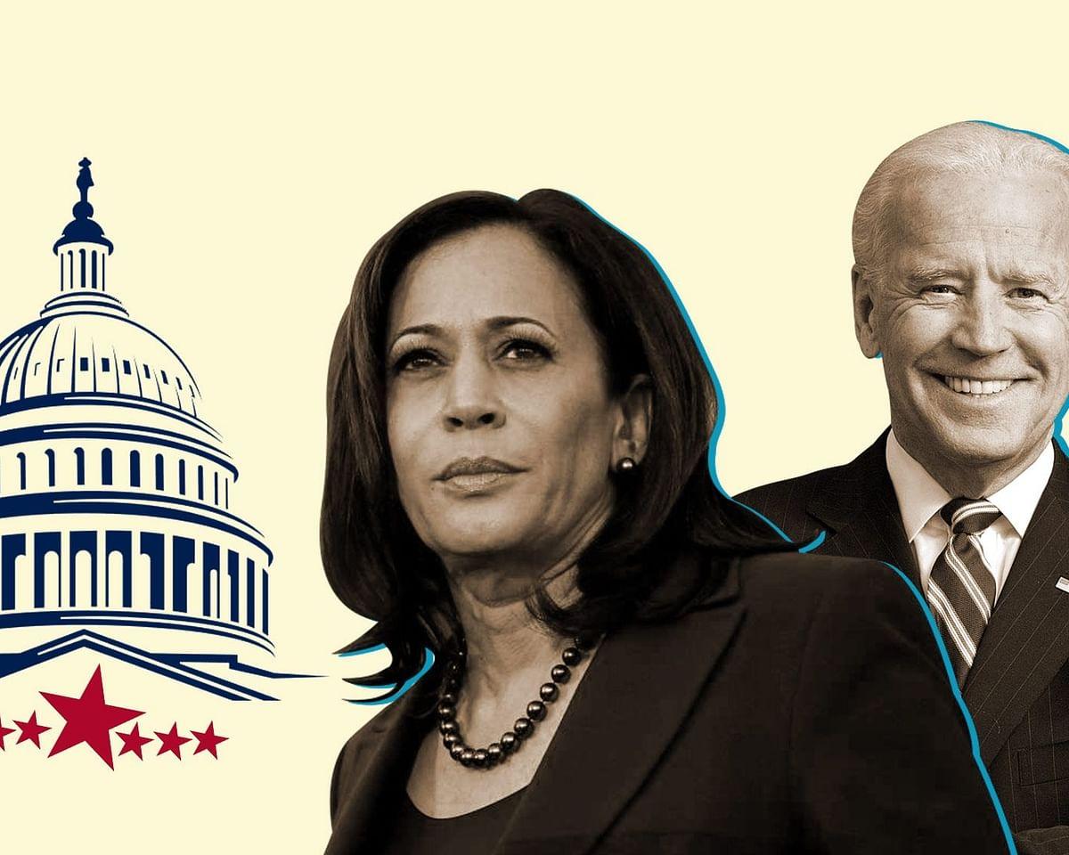 US President-elect Joe Biden and Vice President-elect Kamala Harris.