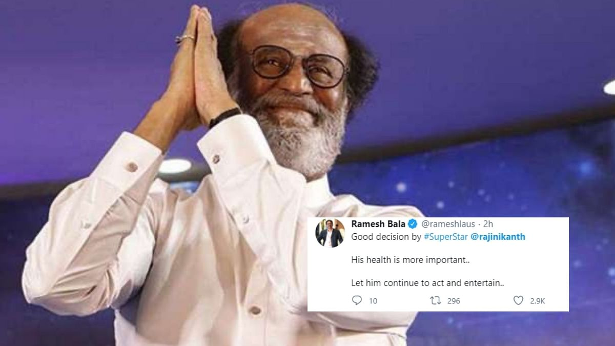 Twitter Reacts To Rajnikanth's Decision To Not Join Politics