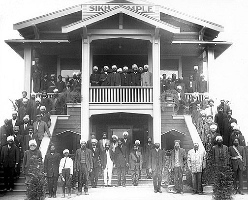 The Sikh Temple, Stockton, California, 1915.